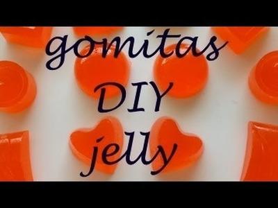 Como hacer unas gomitas duras caseras DIY Alejandra Coghlan