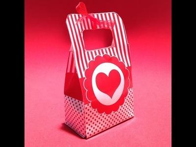 Decoración de fiestas infantiles: Caja para dulces o chuches muy fáciles.