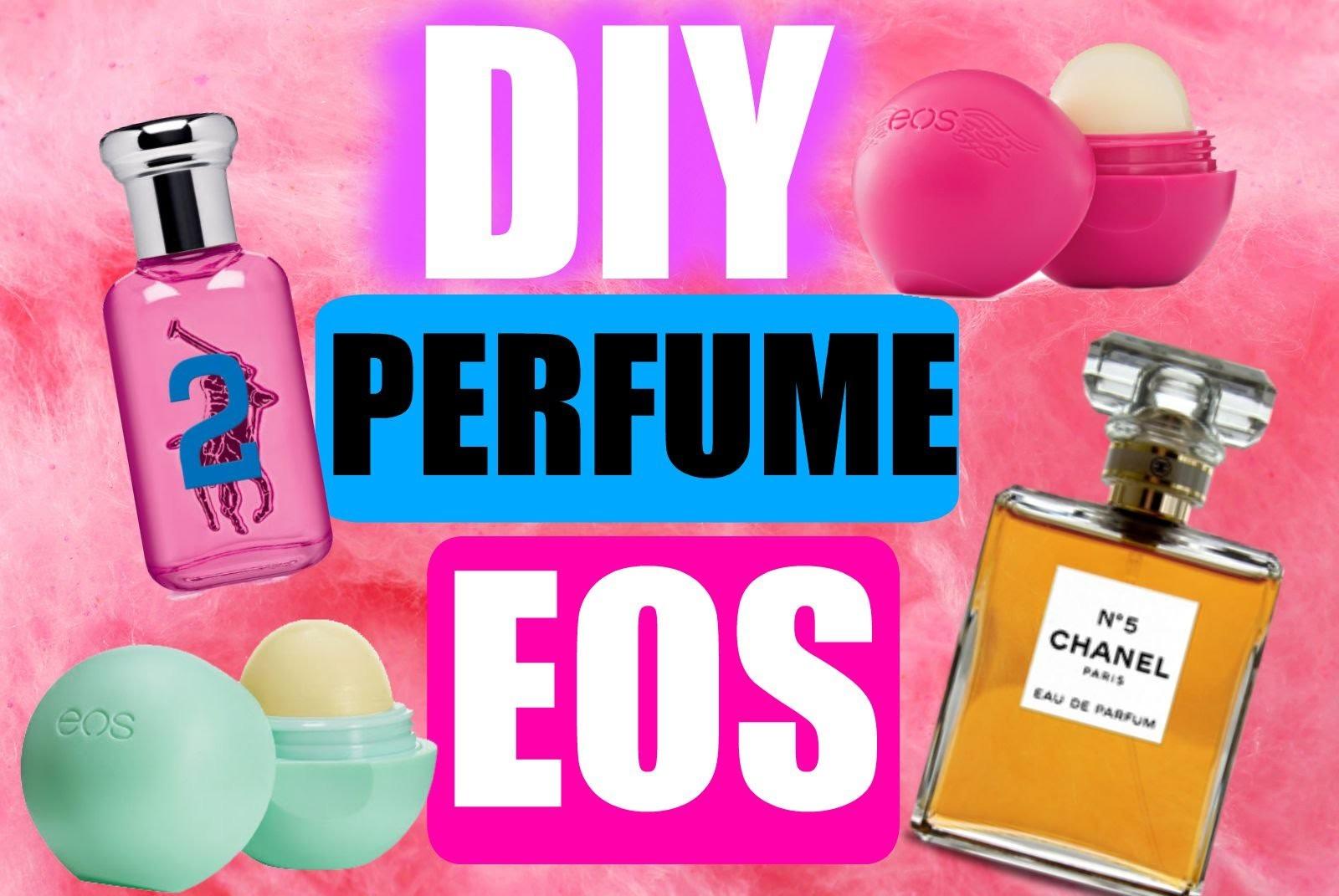 DIY perfume EOS