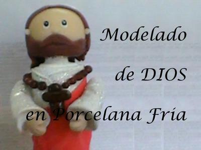 Modelado de Dios en Porcelana en Frio♥