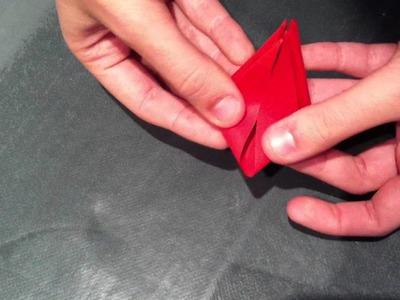 Origami: cómo hacer una flor de papel
