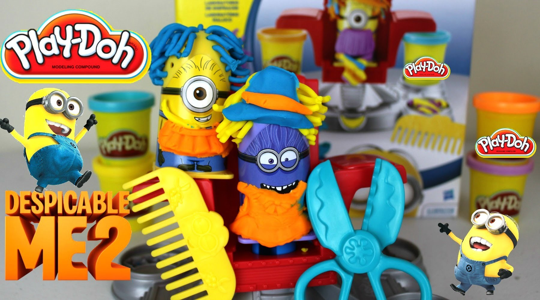 Plastilina Play Doh Despicable Me Minion Disguise | Juguetes Play Doh en Español