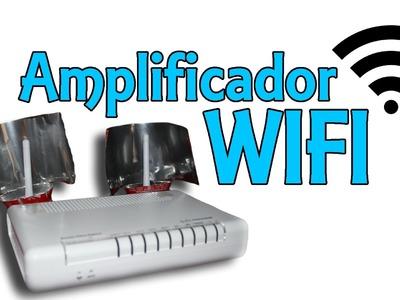 Amplificador WIFI casero con latas (Experimentos Caseros)