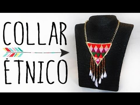 COLLAR BORDADO ÉTNICO