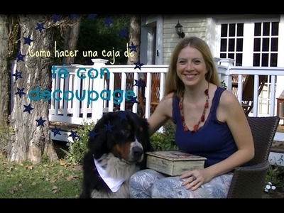 Como hacer decoupage, stencil,  y patinas ♥ Marina Capano