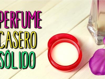 Cómo hacer Perfume Casero Sólido - Fácil en 5 minutos - DIY