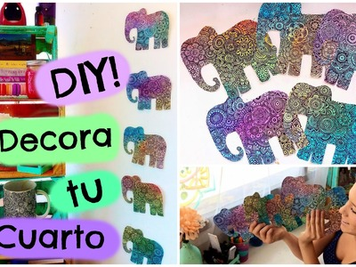 Decoración para tu cuarto! DIY || Zentangle Art