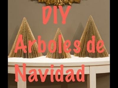 DIY Arboles de navidad!!