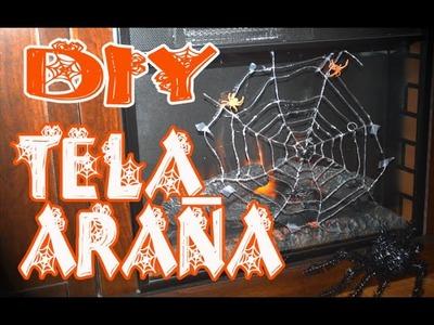 DIY : Como hacer una Tela de Araña - Rápido y Fácil
