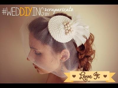 DIY Mi Boda Rocks - Tocado
