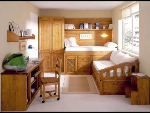 Dormitorios juveniles modernos en madera