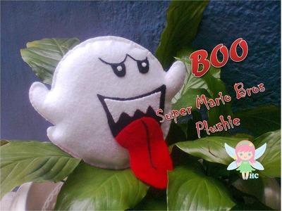 Fieltro Boo Mario Bros. Plushie Tutorial