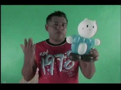 GLOBOS DANIEL AMIGO DE KITTY. HOW TO MAKE A FRIEND DANIEL KITTY