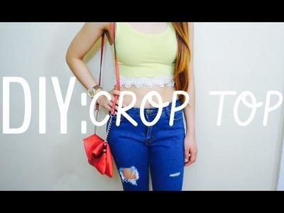 Haz tu propio Crop Top | Facil & Sencillo