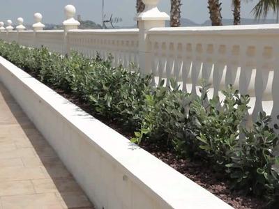 Impermeabilización de una jardinera
