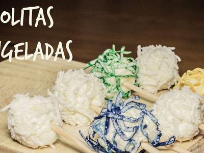 Paletas congeladas de coco con piña! (Juno)
