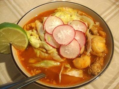 Receta de pozole rojo - comida mexicana - La receta de la abuelita