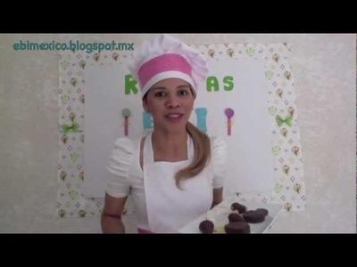 Recetas EBI - paletas de chocolate