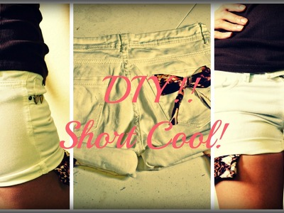 Shorts con bolsillos Cool! DIY-Mon