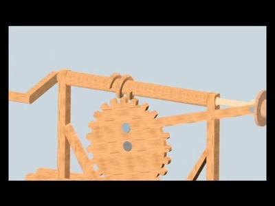 Tornillos Sin Fin - Máquinas de Leonardo Da Vinci -