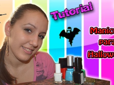 ♥ Tutorial MANICURA: Uñas para Halloween ♥