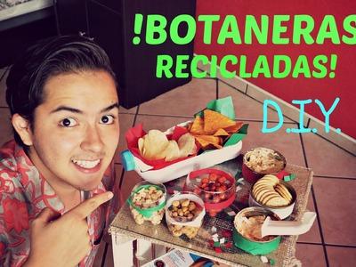 #23 BOTANERAS RECLICLADAS   D.I.Y. ♥