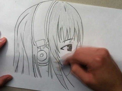 Como dibujar Manga #3 - Cara vista de perfil