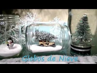 Como hacer Globo de Nieve!! Facil