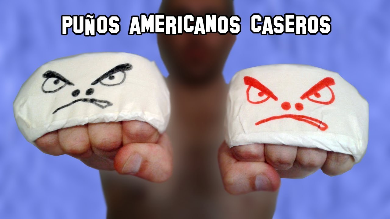 Como Hacer un Puño Americano o Manopla | How to Make an American fist or mitten