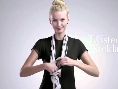 Como ponerse un pañuelo.  4 pañuelos 16 maneras