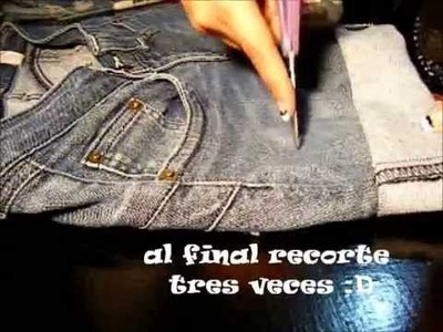 De pantalon a short (reciclando)