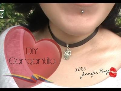 DIY Como Hacer Una Gargantilla ~ Mano Fátima & Arbol de Vida :::.  Jennifer Perez of Mystic Nails ☆