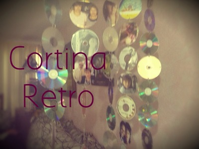 DIY Cortina Retro (Cds Viejos) #Deco Gitcoh