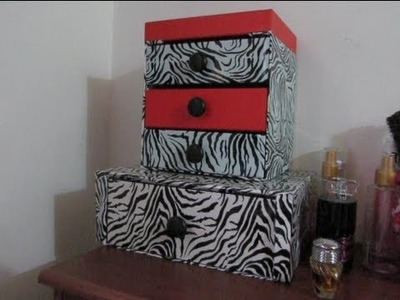 DIY Reciclando cajitas de Almabox!!!!