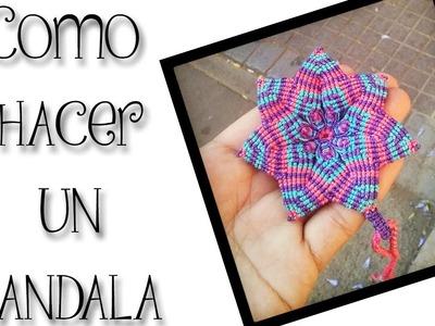 ESPECIAL DE NAVIDAD: Como hacer un Mandala, para regalar o vender
