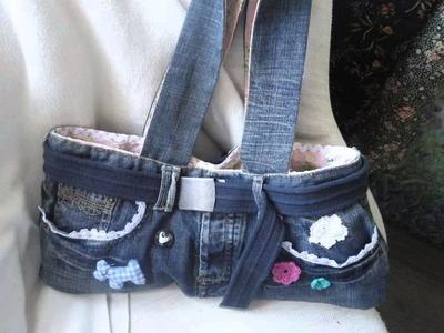 Ideas para reciclar pantalones vaqueros usados