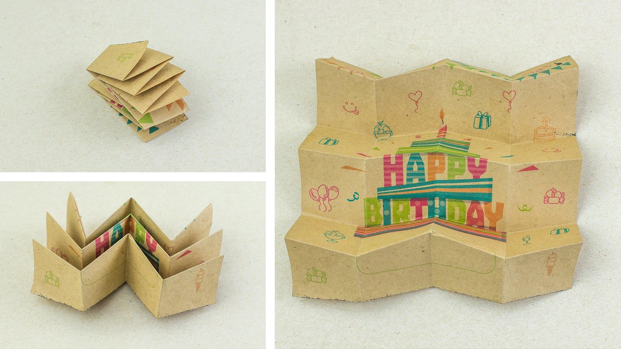 Mini cartas ◕‿◕ con Miura Ori. Jeguridos kids