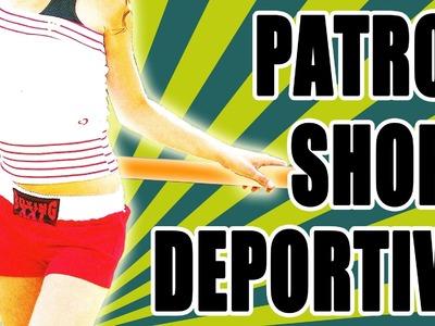 Patrón: Short deportivo