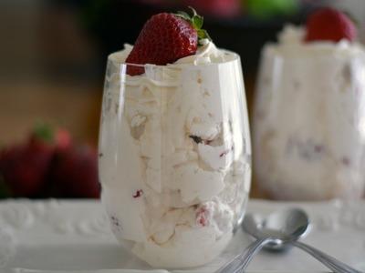 Receta Para Hacer Fresas Con Crema - Cómo Hacer Fresas Con Crema - Sweet y Salado