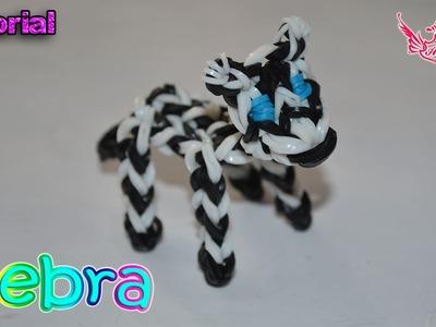 ♥ Tutorial: Cebra en 3D (sin telar) ♥
