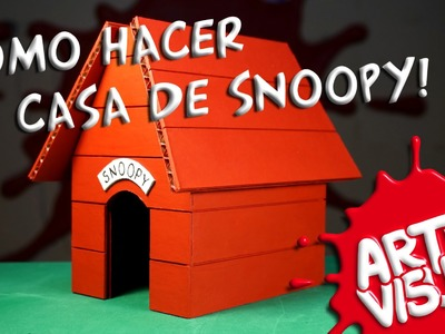 ARTE VISUAL - LA CASA DE SNOOPY