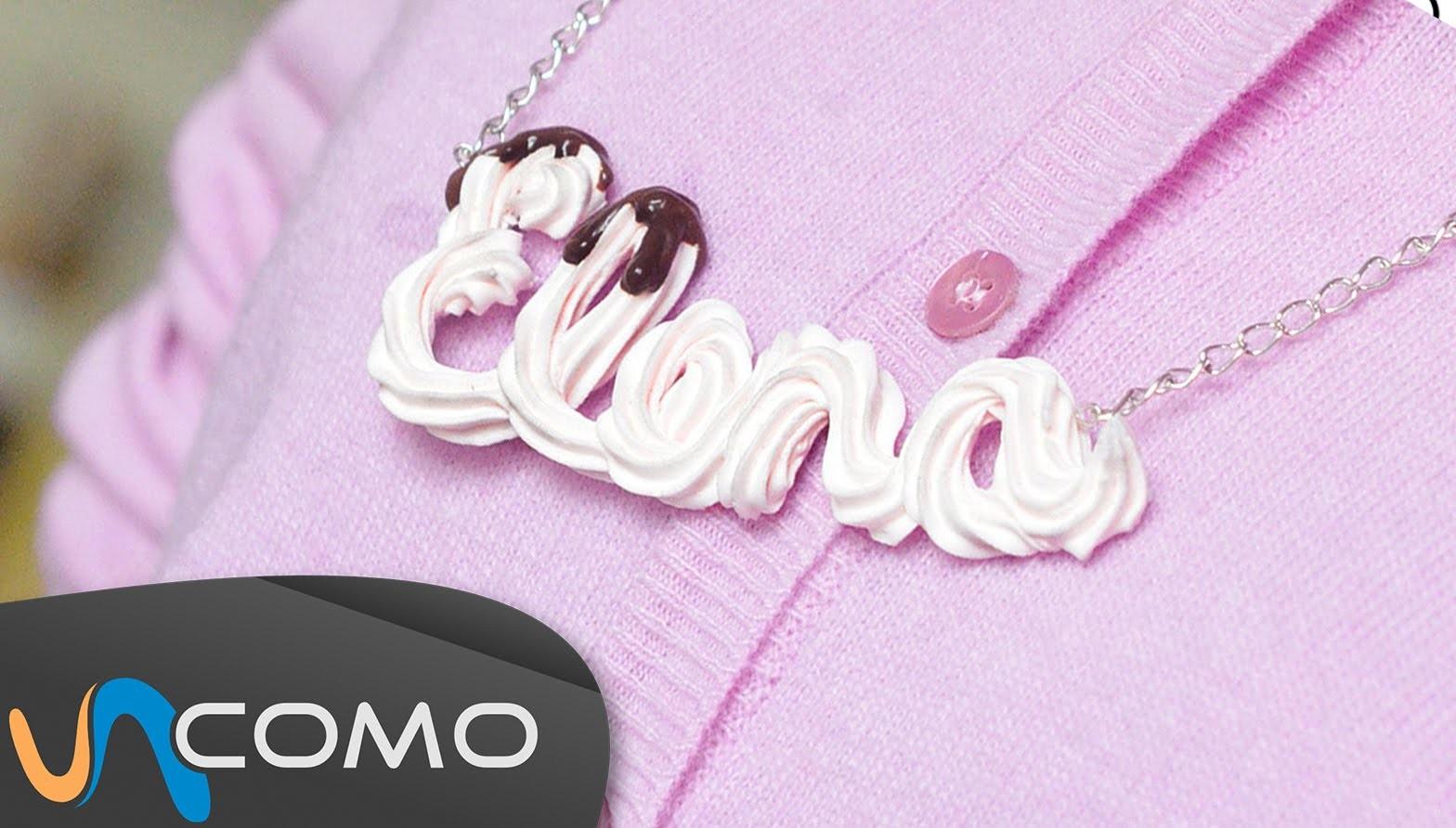 Collar personalizado con tu nombre - Deco Sweets