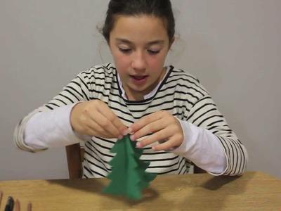 Cómo hacer un árbol de Navidad en 3D