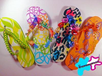 Decora tus sandalias en este verano ☀SUPERMANUALDADES☀