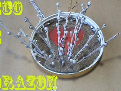 Decoracion Colgante De Corazon Para El 14 De Febrero