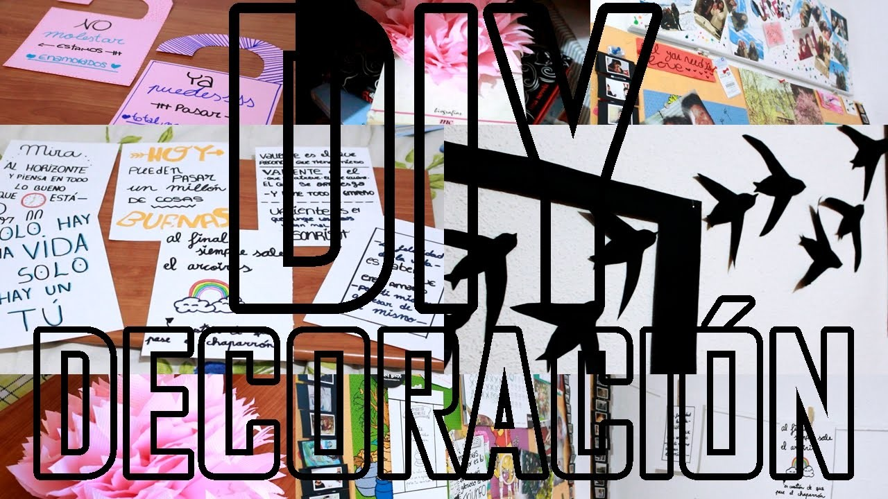 DIY:DECORA TU HABITACIÓN FACILISIMO|ROOM DECOR