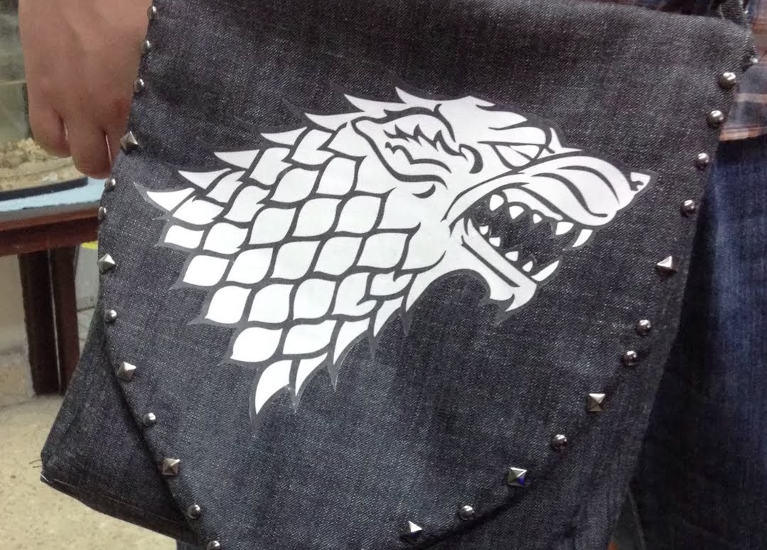 "♡Game of thrones themed Bag DIY ♡ ""Morral"" ""Juego de tronos"" ♡"