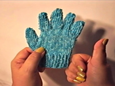 Guantes de Lana para Niño de 2 Años. Wool Glove´s Kid for 2 Years Old