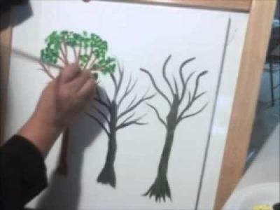 Haciendo arboles cencillos y faciles artemania por artemaria
