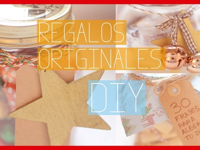 IDEAS DE REGALOS ORIGINALES - DIY | Ale90cb